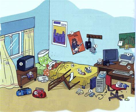 les chambres décrire une chambre situer les objets fle lexique de la