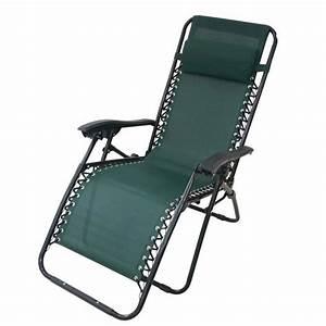 Chaise Longue De Jardin Inclinable Achat Vente Chaise