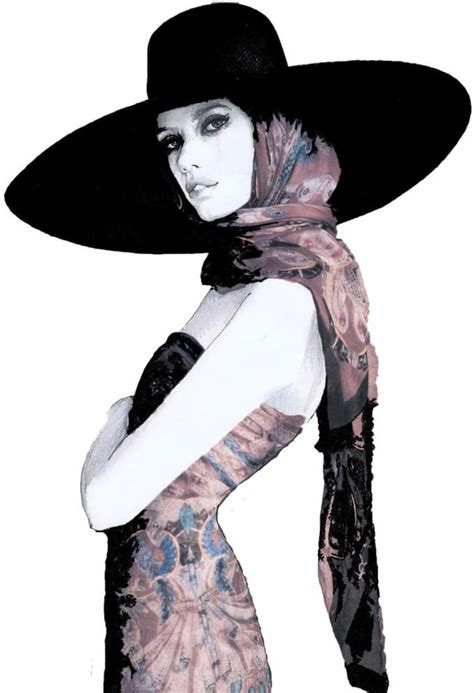 Make a fantastic fashion illustration, digital model ...