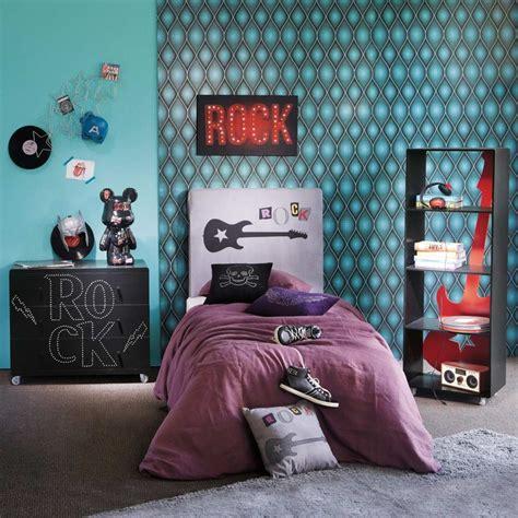chambre deco ado deco chambre ado fille rock visuel 2