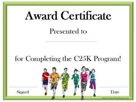 running certificates images  pinterest