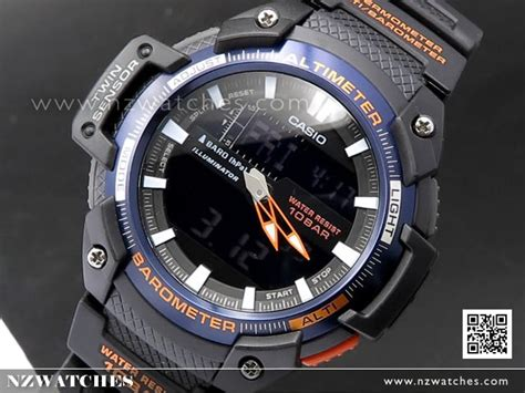 casio outgear sgw 450h 2b buy casio outgear altimeter barometer thermometer sports
