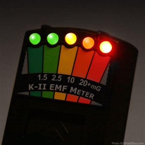 GhostStop Ghost Hunting Equipment - K2 Deluxe EMF Meter ...