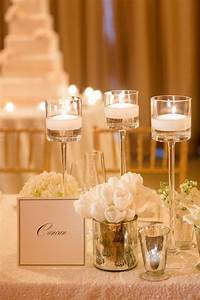 centerpieces with candles 20 Simple and Chic Candle Centerpieces