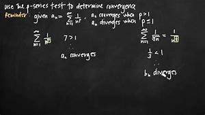 P-series Test For Convergence  Kristakingmath