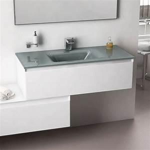 Vasque En Verre Salle De Bain : 106 best meubles salle de bains images on pinterest ~ Edinachiropracticcenter.com Idées de Décoration