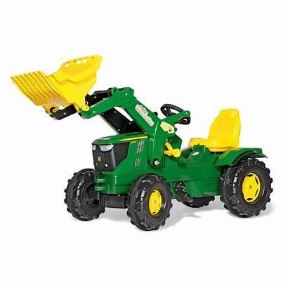 Deere John Toy Tractor Farm Walmart Loader