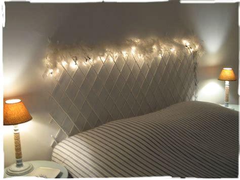 guirlande lumineuse chambre gar n des idées de têtes de lits à faire soi même le de