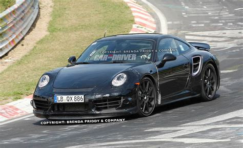 2013 Porsche 911 Turbo Spy Photos The Big Wing Is Back
