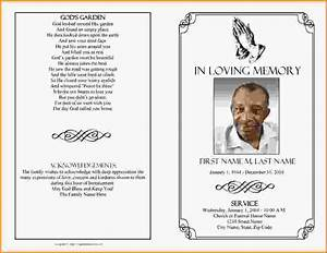 funeral program template madinbelgrade With free funeral program template publisher