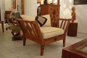 Fauteuil En Bois : les bancs fauteuils chaises d inspiration afrik galerie arte ~ Teatrodelosmanantiales.com Idées de Décoration