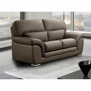 canape fixe confortable design au meilleur prix cloe With canape veritable cuir