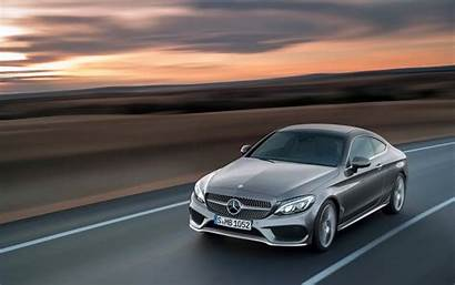 Mercedes Benz Class Coupe Grey Wallpapers C300