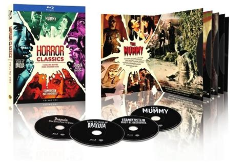 Hammer Horror Classics Blu-ray Box Set Coming Up