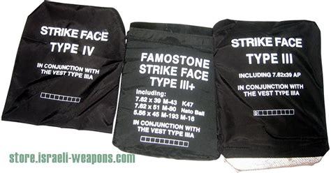 Body Armor Bullet Proof Vest Ceramic Plates Level Iii (3
