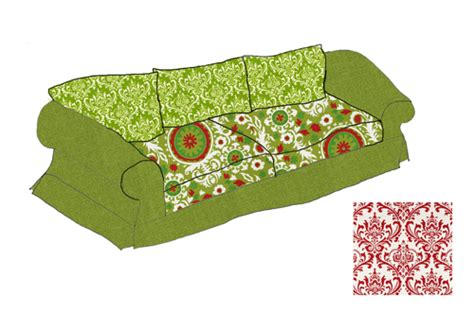 How To Make A Loveseat Slipcover by How To Design And Sew A Slipcover Part 1 Diy Home Decor