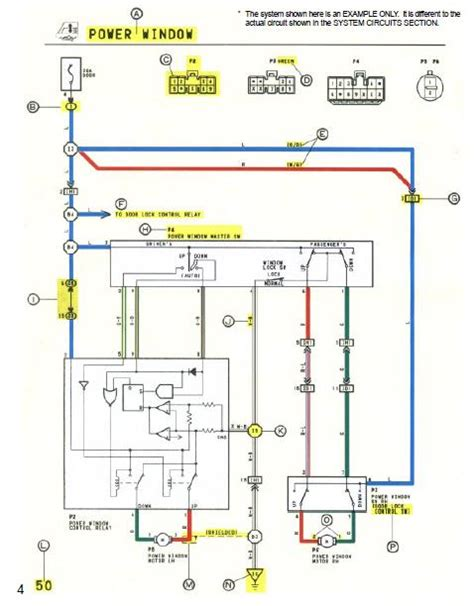 2011 Toyotum Wiring Diagram by Repair Manuals Toyota Camry 1994 Wiring Diagrams