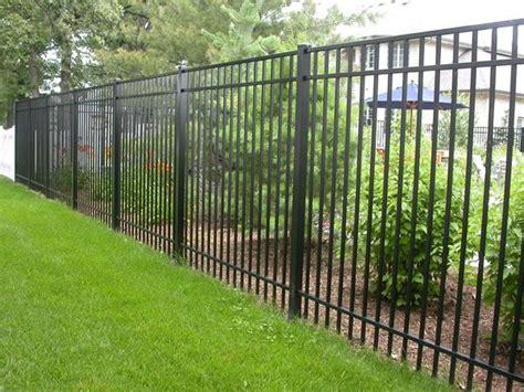 yard fencing fencing ideas high aluminum fence ideas modern home design front yard garden pinterest