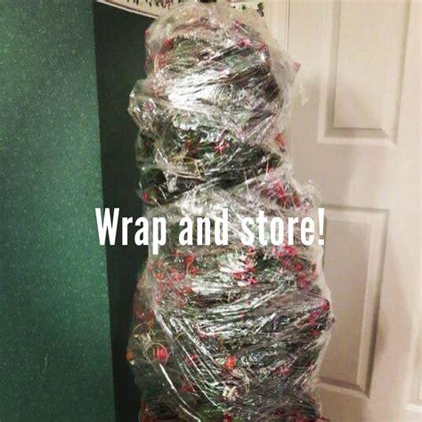 Saran Wrap Christmas Tree For Storage by 28 Saran Wrap Christmas Tree Can You Saran Wrap