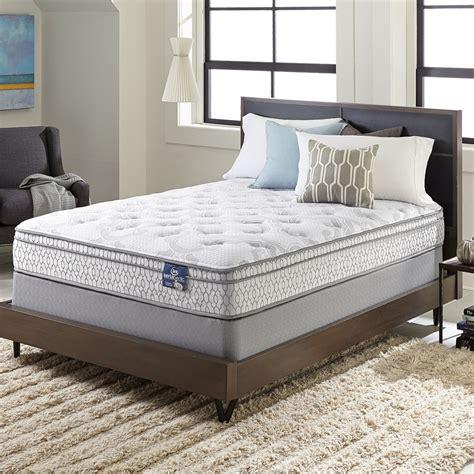size of a mattress serta extravagant top size mattress set ebay