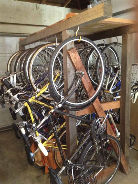 tools diy wooden bike rack   plans