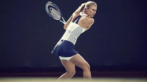 nikecourt  colette celebrates maria sharapovas return  paris nike news