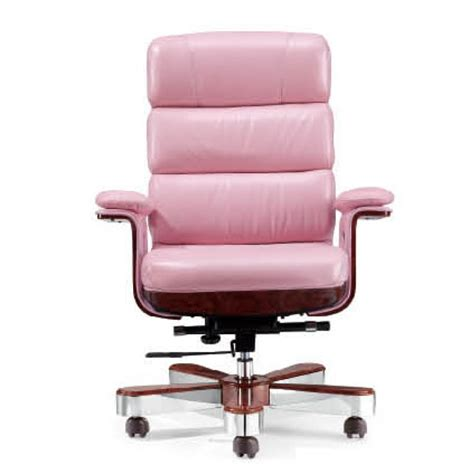 luxury executive chair pink leather des a020 p order