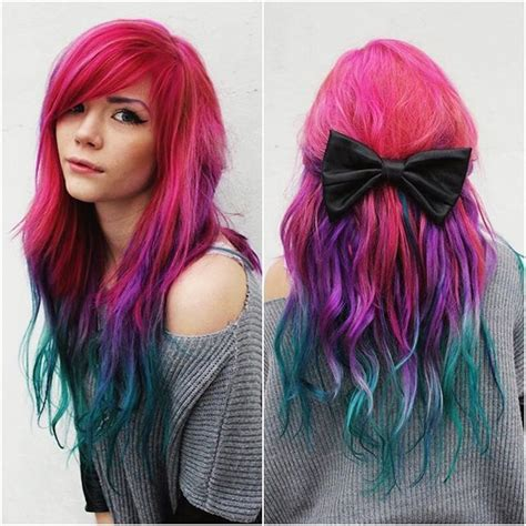 Hair Dyes Ideas by Best 25 Vibrant Hair Colors Ideas On
