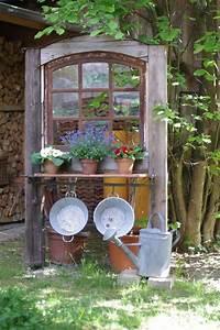 Alte Holzfenster Deko : alte fenster altes fenster wunderlichekunst mehr garten pinterest alte fenster ~ Sanjose-hotels-ca.com Haus und Dekorationen