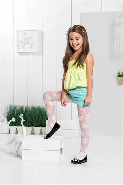 Tights Preteen Tween Teen Stockings Summer Pretty