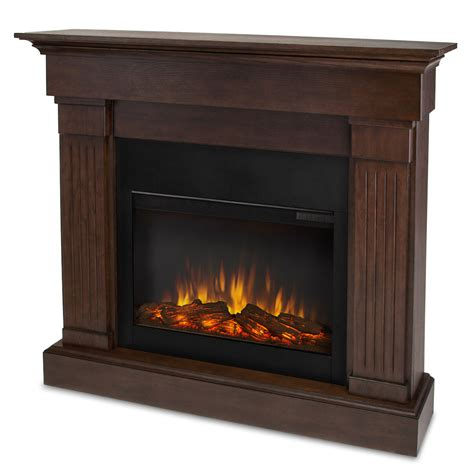 real flame crawford slim  electric fireplace