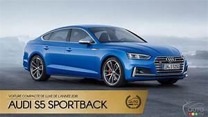 Prix Audi S5 : l audi s5 sportback notre compacte de luxe de l ann e 2018 actualit s automobile auto123 ~ Medecine-chirurgie-esthetiques.com Avis de Voitures