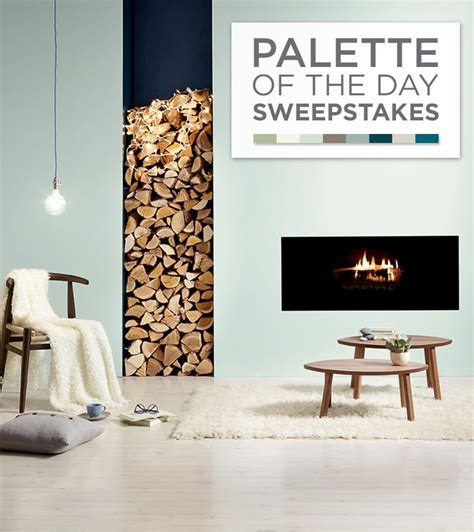 enter the valspar palette of the day sweepstakes for a chance to win a gallon of a
