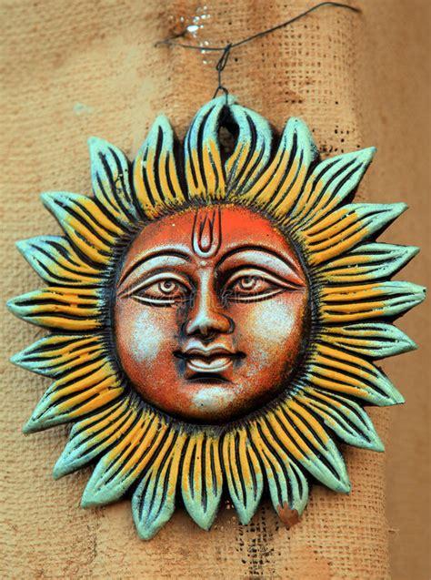 de god van de zon stock foto afbeelding bestaande uit