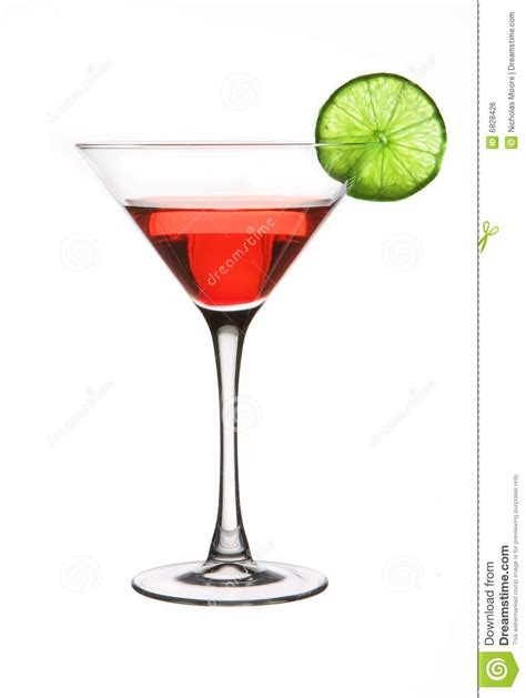 red martini red martini with a lime stock photo image of martini