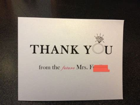 diy bridal shower and groomsmen thank you cards