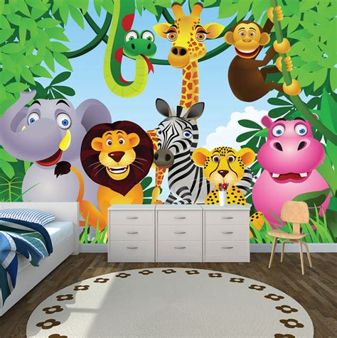 jungle theme wallpaper  kids wallpapersafari