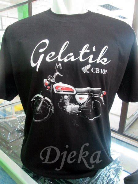 Kaos Cb L P jual jual fashion kaos motor klasik honda cb 100 gelatik