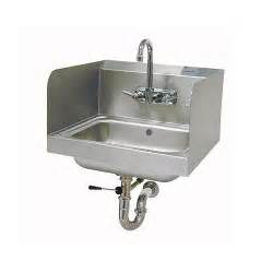 advance tabco 7 ps 40 hand sink with side splash guards