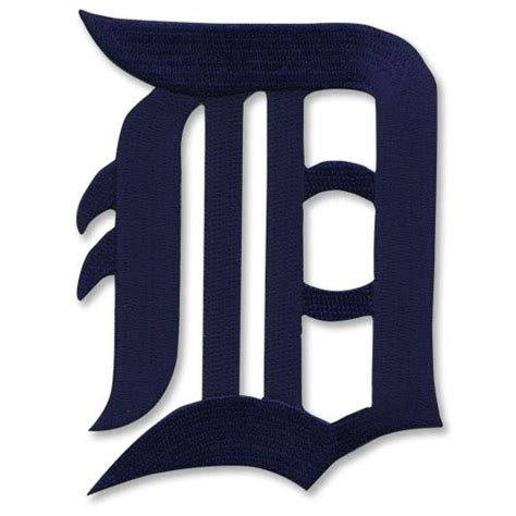 Pumpkin Patch Dallas Tx 2017 by Detroit Tigers Old English D In Blue Mlb Baseball Logo Patch