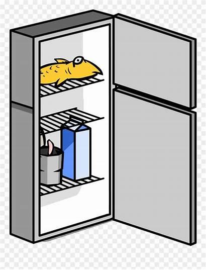 Fridge Clipart Transparent Refrigerator Closed Cool Pinclipart