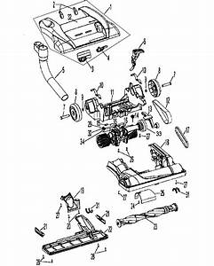 Hoover Uh50005b Upright Vacuum Parts
