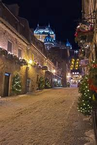Christmas Quebec City Canada