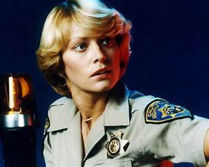 RANDI OAKES CHIPS IN POLICE UNIFORM SUPERB PORTRAIT PHOTO