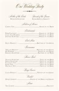 catholic wedding ceremony program 1000 ideas about wedding program templates on