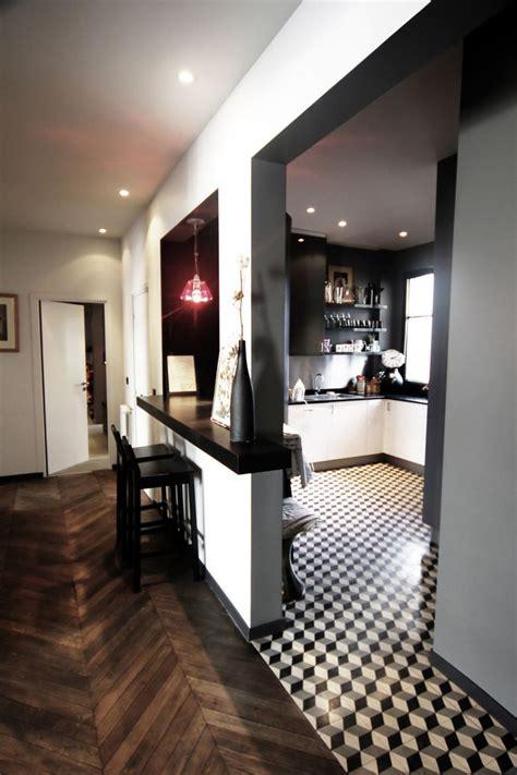 carrelage cuisine blanc et noir carrelage damier noir et blanc amazing beau carrelage