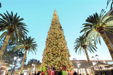 tree lighting ceremony at fashion island orange county zest