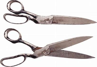 Scissors Scissor Transparent Pair Clipart Rusty Clipartmag