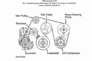 95 Isuzu Rodeo Engine Belt Diagram