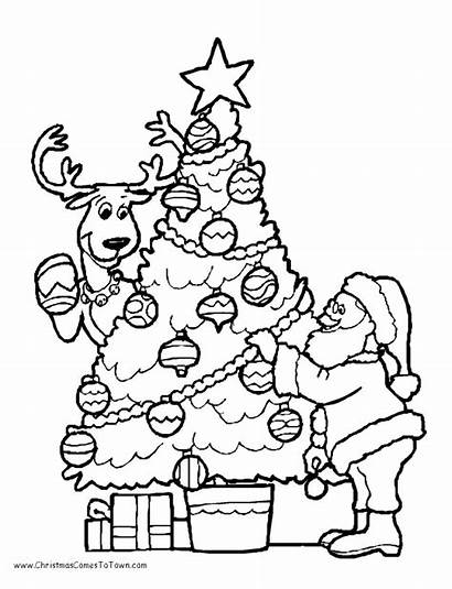 Christmas Coloring Pages Colouring Printable Sheets Printables